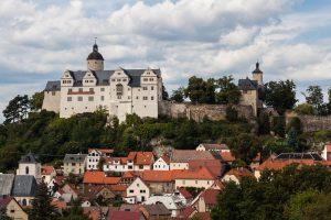 Burg Ranis in der Nähe vom Bleilochstausee / Bleilochtalsperre