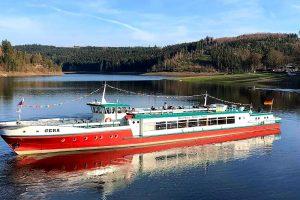Fahrgastschifffahrt Bleilochstausee - Marina Saalburg